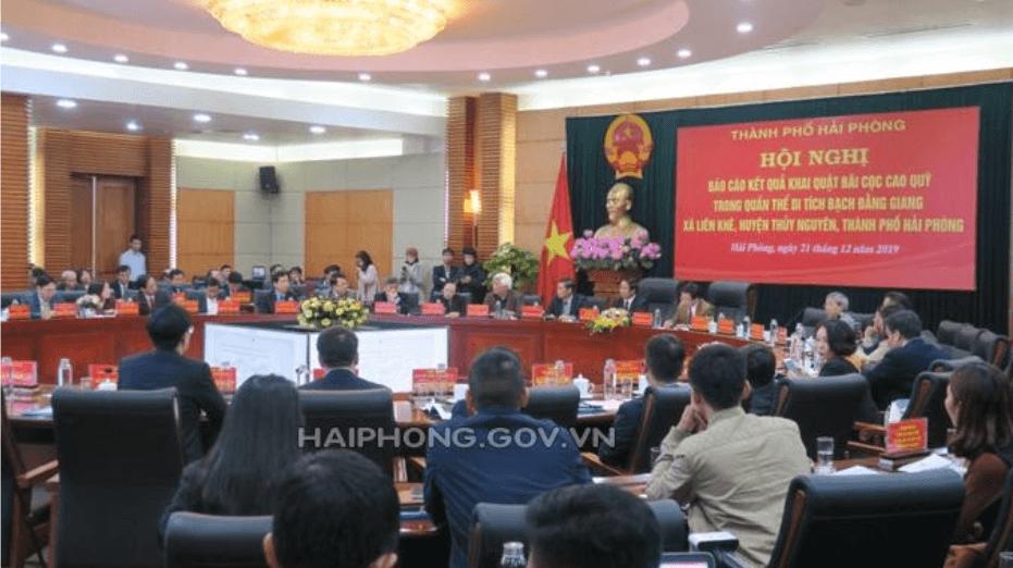 Hội nghị báo cáo kết quả khảo cổ bãi cọc Cao Quỳ