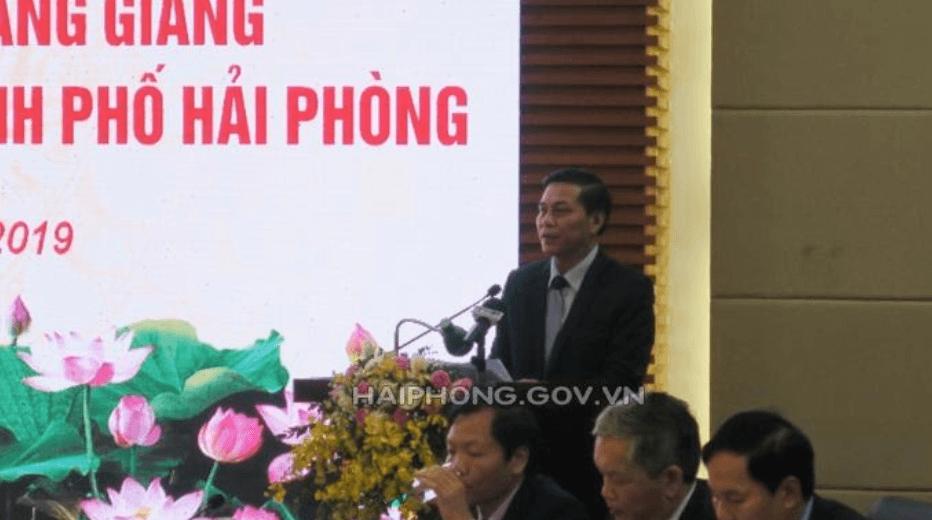 Chủ tịch UBND thành phố Nguyễn Văn Tùng