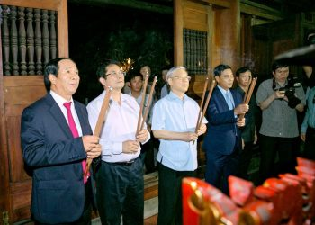 Lãnh đạo Đảng và NN thăm BĐG