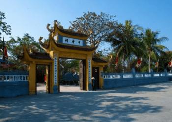 Trang Trinh Nguyen Binh Khiem Temple