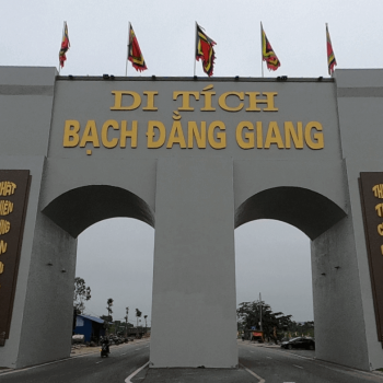 Relic site Bach Dang Giang – Where connects history pages
