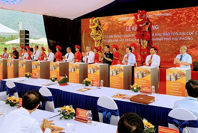 Thủ tướng khởi công bãi cọc Cao Quỳ