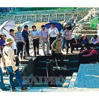 Báo cáo sơ bộ kết quả khai quật bãi cọc Đầm Thượng