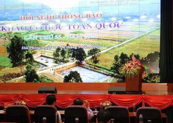 Hội nghị thông báo những phát hiện mới về Khảo cổ học lần thứ 55 tại Thành phố Hải Phòng