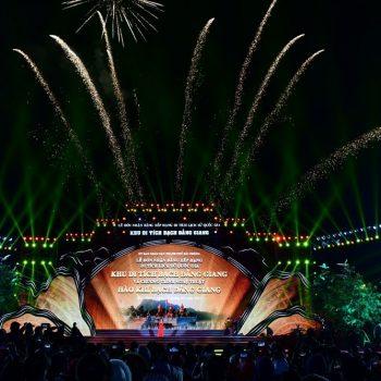 Thành phố Hải Phòng long trọng tổ chức Lễ đón nhận Bằng xếp hạng Di tích lịch sử quốc gia Khu Di tích Bạch Đằng Giang